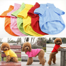 Pet Puppy Summer Shirt Polo Small Dog Cat Pet Clothes Costume Apparel T-Shirt il