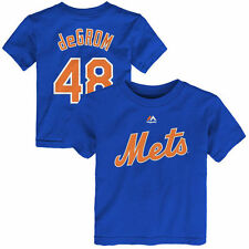 Toddler Jacob deGrom Royal New York Mets Name & Number T-Shirt - MLB