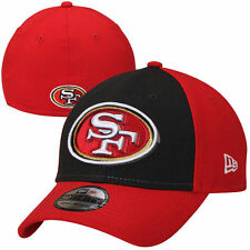 San Francisco 49ers New Era Oblique Classic 39THIRTY Flex Hat - Scarlet - NFL