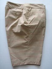 NWT EP Pro From Afar Stretch Praline Tan Golf Bermuda Walking Shorts Plus Size