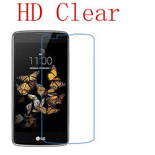 1pc HD LCD Clear Screen Protector Film Shield For LG K8 Lot & Cleaning Cloth