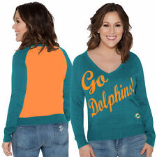 Touch by Alyssa Milano Miami Dolphins Sweater - NFL
