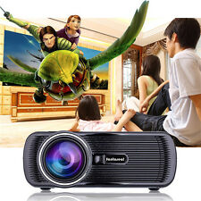 1000 Lumens Full HD 1080P LED LCD 3D VGA HDMI TV Home Theater Projector Cinema