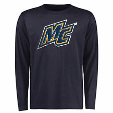 Merrimack College Warriors Big & Tall Classic Primary Long Sleeve T-Shirt - Navy