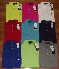 NWT Polo Ralph Lauren Performance Polo Shirt Wicking Dry Golf Sport 9-Colors *W4