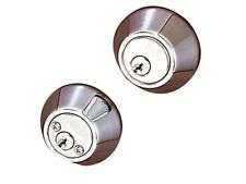 BHP 17788CH Double Cylinder Dead Bolt Security Lock - Polished Chrome