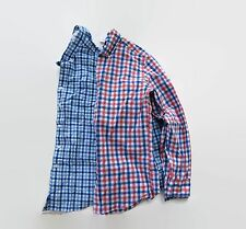 NWT J. Crew Factory Men's Regular Fit Plaid Gingham Button Down Shirt Top M L