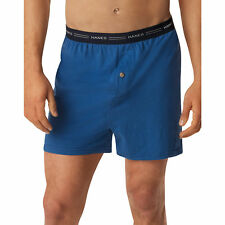 Hanes Men's TAGLESS ComfortSoft Knit Boxer with Comfort Flex Waistband, 5/Pack