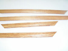 Oak Stain Solid Wood Picture Frames-Custom Sizes-Chopped-No glass or backing