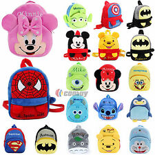 Kids Boys Girls Cartoon Student School Bag Backpack Shoulder Rucksack Schoolbags