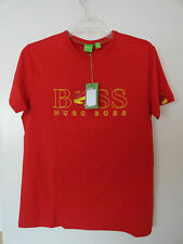 NWT HUGO BOSS SPAIN FLAG WORLD CUP 2014 SOCCER FOOTBALL MENS T-SHIRT COTTON