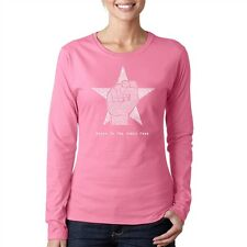 Women's Long Sleeve T-Shirt - Steve Jobs - Here's to The Crazy One's