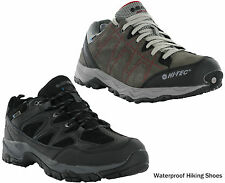 Hi-Tec Waterproof Hiking Dri-Tec Suede Mesh Lace Low Trek Walking Mens Trainers