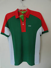 "NWT HUGO BOSS SOCCER WORLD CUP 2014 ""PREK FLAG"" MEXICO POLO SHIRT MODERN FIT"