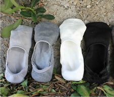 Hot 6 Pairs Men Loafer Boat Invisible No Show Nonslip Liner Low Cut Cotton Socks