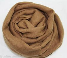 NEW CHAN LUU Fashion Crinkle Cozy Soft Cashmere Silk Neck Scarf Wrap Shawl