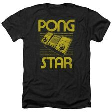 T-Shirts Size S-2XL New Authentic Atari Pong Star Heather Mens T-Shirt
