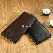New Quality Men's Lady's Bifold Leather ID Cards Holder Wallet Purse Clutch