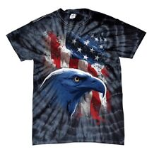 American Icon Eagle In Front Of Flag T-shirt
