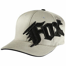 NEW FOX NEW GENERATION HAT FLEX FIT GREY CAP HAT LID MENS ADULT GUYS FLEXFIT