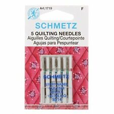 Schmetz Quilting Sewing Machine Needles System 130/705 Package of 5