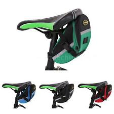 Cycling Saddle Bag Bicycle Seat Pouch Storage Bike Rear Tail Waterproof AA L7R3
