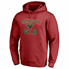 Minnesota Wild Victory Arch Pullover Hoodie - Red - NHL