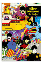 The Beatles Yellow Submarine Poster New - Maxi Size 91.5 x 61cm