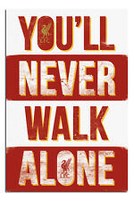 Liverpool FC You'll Never Walk Alone Poster New - Maxi Size 36 x 24 Inch