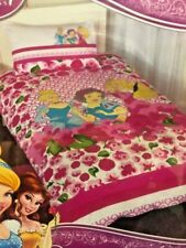 DISNEY PRINCESS Petal SINGLE or DOUBLE choice QUILT COVER SET BNIP Pink flowers
