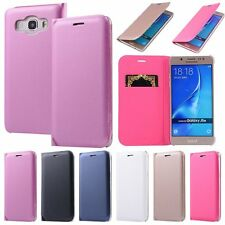 Luxury Leather Wallet Card Slot Filp Case Cover For Samsung Galaxy Series Model