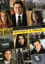 WITHOUT A TRACE COMPLETE SEASON 4 New Sealed 6 DVD Set Warner Archive Collection