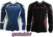 GHOST All Mountain Jersey Freeride Jersey long Blue / Black New