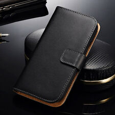 New Genuine Leather Flip Card Wallet Cover Case For Samsung Galaxy Grand 2 G7106