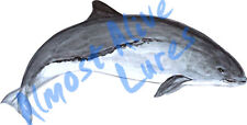Porpoise Marine Ocean Life Art Vinyl Decal Sticker - Car Home Truck SUV Boat RV