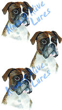 Boxer Pet Large Breed Work Dog Vinyl Decal Sticker - Home Car Truck SUV RV Boat