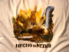 MEXICAN COWBOY RIDING BULL HECHO EN MEXICO T-SHIRT