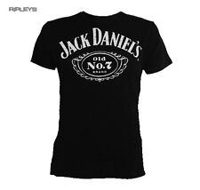 Official T Shirt JACK DANIELS Classic CHEST LOGO Black All Sizes