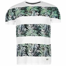 Ocean Pacific Mens Panel Print T Shirt Summer Casual Short Sleeve Crew Neck Tee