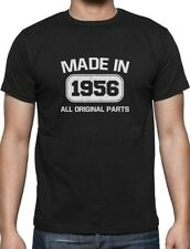 60th Birthday Gift Idea Made in 1956 T-Shirt Funny Present