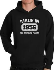 60th Birthday Gift Idea Made in 1956 Hoodie Funny Present