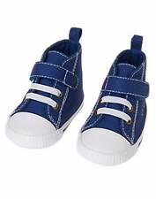 NWT Gymboree Boys Everyday Basics Navy Blue High Top Crib Shoes Size 01 02 03 04