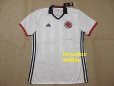 BNWT Adidas 2016 COLOMBIA Home White Soccer Jersey Football Shirt Trikot AC2837