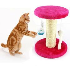 Mini Cat Kitten Scratching Post Tree Scratcher Climbing Activity Centre Play Toy