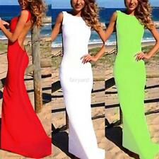 Sexy Women Backless Ball Gown Bodycon Party Evening Cocktail Long Maxi Dress New