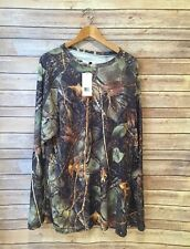 WFS Camo Hunting Shirt Long Sleeve Big & Tall 5XL 6XL New With Tags