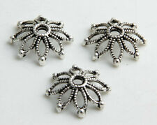 40/300pcs Tibetan Silver Flower Spacer Bead Caps 19mm Fit Jewelry Etc.