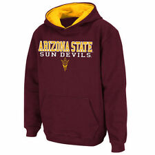 Youth Stadium Athletic Maroon Arizona State Sun Devils Stack II Hoodie - College