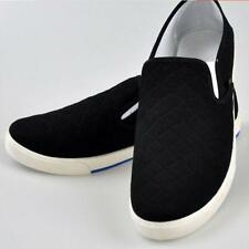 Hot Leisure Canvas Breathable Loafers Moccasin Mens Canvas Shoes Driving Shoes@