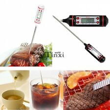 Digital Cooking Food Probe Meat Kitchen BBQ Selectable Sensor Thermometer TXWD
